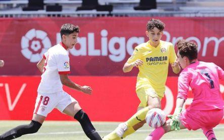 Al Sevilla le queda el consuelo de ser la mejor cantera (2-0)
