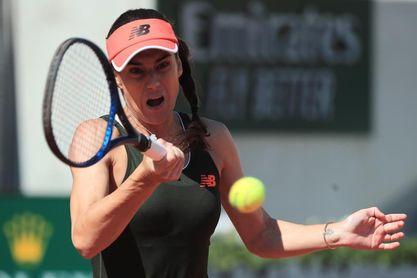 Zidansek, primera cuartofinalista en París