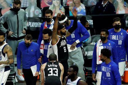 126-111: Los Clippers rompen el sueño de Doncic y eliminan a los Mavericks