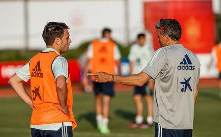 """Uribes: """"No vacunamos a los futbolistas, vacunamos a la selección española"""""""