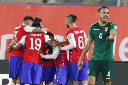 1-1. Moreno Martins le da valioso punto a Bolivia ante un Chile sin puntería