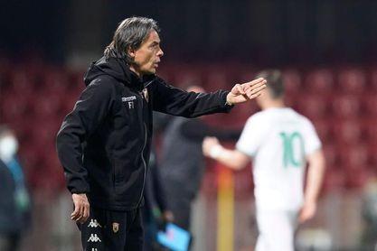 Filippo Inzaghi sustituye al español Pep Clotet como técnico del Brescia