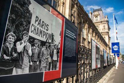 La corta pero intensa historia del PSG en una exposición fotográfica