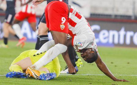 El Almería pone precio a Sadiq, en la recámara del Sevilla FC
