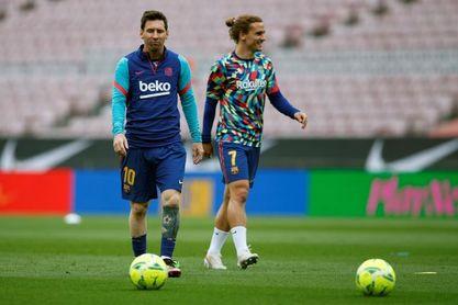 """Griezmann: """"A Messi le envías un melón y te lo transforma en caviar"""""""