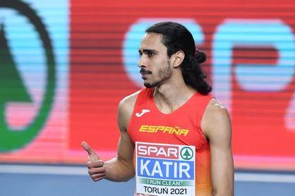 Mohamed Katir destroza el récord de España de los 5.000 metros