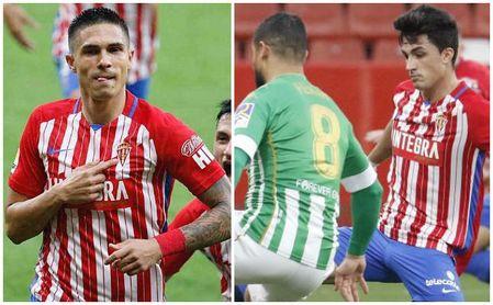 El Sporting manda un claro mensaje para Cádiz y Betis ante el interés en Djuka y Manu García