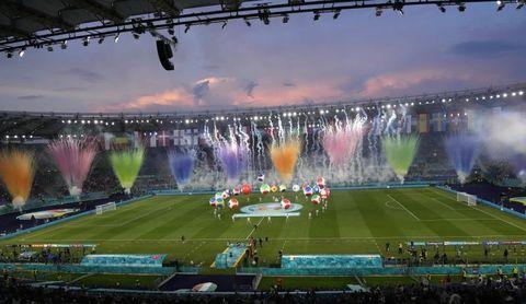 """Bocelli emociona al Olímpico con el """"Nessun Dorma"""" para abrir la Eurocopa"""