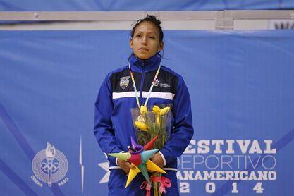 Luisa Valverde se suma al equipo de lucha de Ecuador clasificado para Tokio