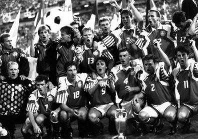 Suecia'92: Dinamarca, de la playa a la gloria