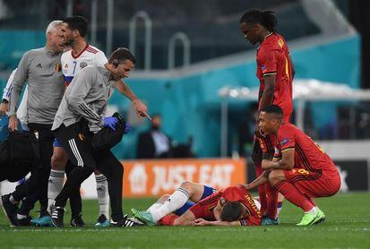 El belga Castagne tiene 6 fracturas en la cara y será operado este martes