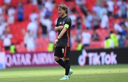Luka Modric no entrena con Croacia y la prensa se pregunta el porqué