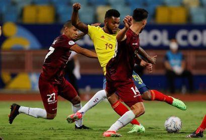 0-0. Un Faríñez monumental salva a Venezuela ante una Colombia muy ofensiva