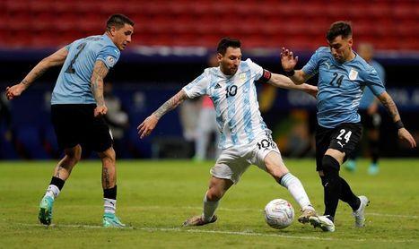 1-0. Con gol de Rodríguez, Argentina se lleva un intenso clásico rioplatense