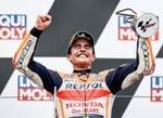 Márquez vuelve a lo más alto del podio en Sachsenring