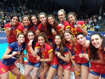 España logra el bronce en la Liga de Oro Europea