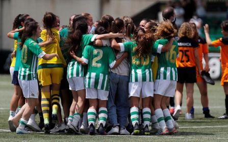 El filial del Betis Femenino asciende a Segunda División