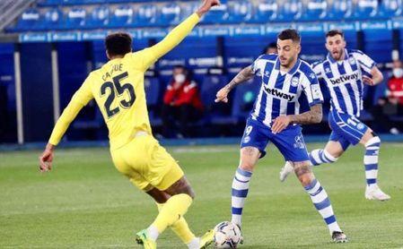 En el Alavés desconocen el interés del Sevilla FC por Joselu