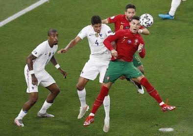 Cristiano Ronaldo, mayor goleador internacional de siempre junto a Ali Daei