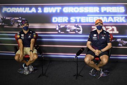 """'Checo': """"Nunca subí al podio en Austria, pero espero que esto cambie"""""""