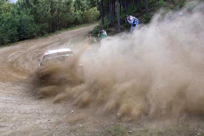 Sébastien Ogier lidera en el primer tramo del Rally Safari de Kenia