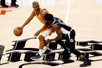 106-92. Paul George lidera el primer triunfo de los Clippers ante los Suns