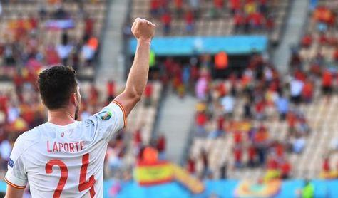 """Laporte: """"Estar con la selección es un sueño, meter un gol aún más"""""""