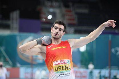Ureña comienza el decatlón con una marca de 10.80 en 100 metros