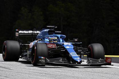 Verstappen, el más rápido; Alonso, quinto y Sainz, undécimo