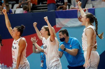 Francia y Serbia se citan en la final en una jornada negra para España