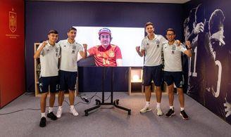 Fernando Alonso manda un vídeo de apoyo a la selección española de fútbol