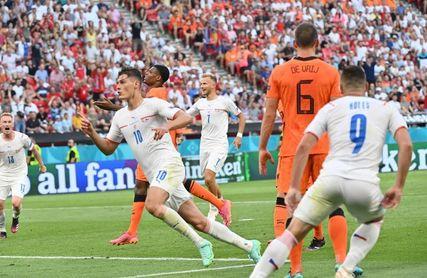 0-2. La República Checa sorprende a Países Bajos