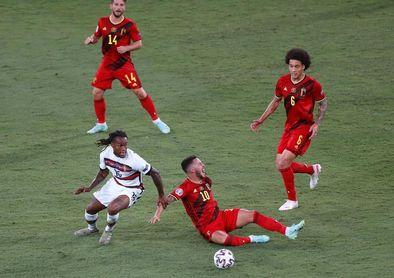 Bélgica, en cuartos pero con De Bruyne y Eden Hazard lesionados