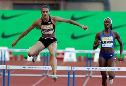 McLaughlin, récord mundial de 400 vallas y calor extremo en el último día de pruebas