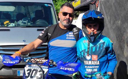 Salvador Pérez sigue segundo en el campeonato de EMX85 de la zona suroeste.