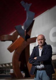 """""""Sentimiento"""" de Carlos Purroy, símbolo del apoyo de la afición a Osasuna"""