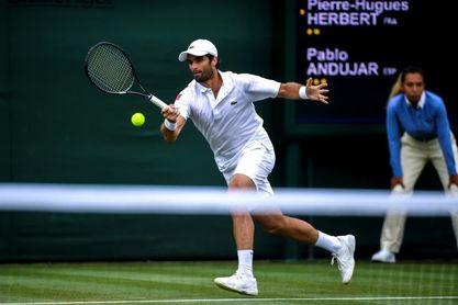 Andújar vence a Herbert y consigue su tercer triunfo en Wimbledon