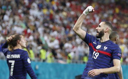 Benzema, a un gol de Cristiano Ronaldo