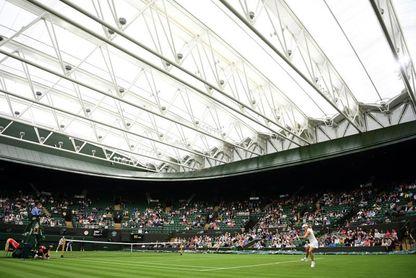 Wimbledon cancela 27 partidos y suspende seis por la lluvia