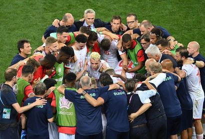 Xhaka se perderá el partido ante España por sanción