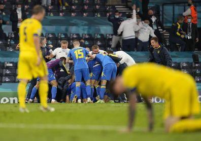 """Suecia lamenta la """"dura"""" despedida de la Eurocopa"""