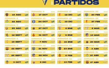 El Cádiz CF ya conoce su calendario 2021/2022