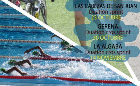 Conoce el protocolo anticovid para participar en el Circuito provincial de duatlón y triatlón de la Diputación.