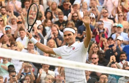Federer eleva el nivel