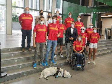 Jairo Ruiz lidera al equipo de triatlón paralímpico en los Juegos de Tokio