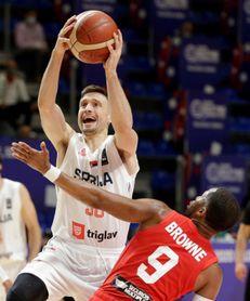 102-84. Serbia vence a Puerto Rico y peleará con Italia por viajar a Tokio