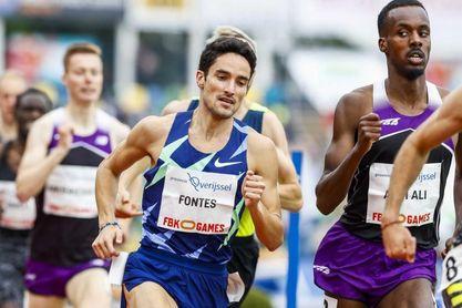 Fontes, Ben y Guerrero baten sus marcas personales en Estocolmo