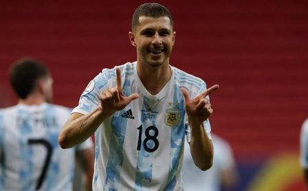 Argentina se rinde a Guido, al que comparan con Xabi Alonso, Busquets o Kroos.