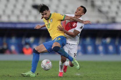 1-0. Brasil vence con lo justo a Perú y avanza a la final de la Copa América