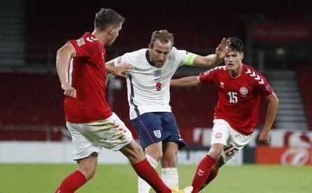 Inglaterra y Dinamarca, bajo el mismo resultado de siempre en Wembley y con gran favoritismo británico
